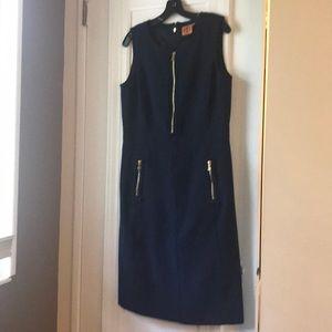 Tory Burch Navy Sheath Dress